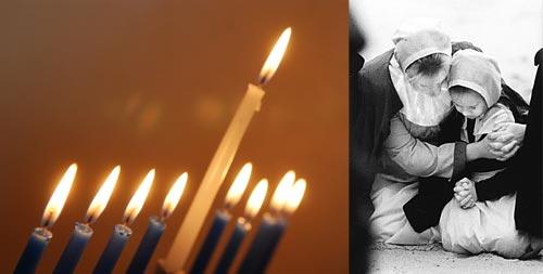 Hanukkah-Pilgrims